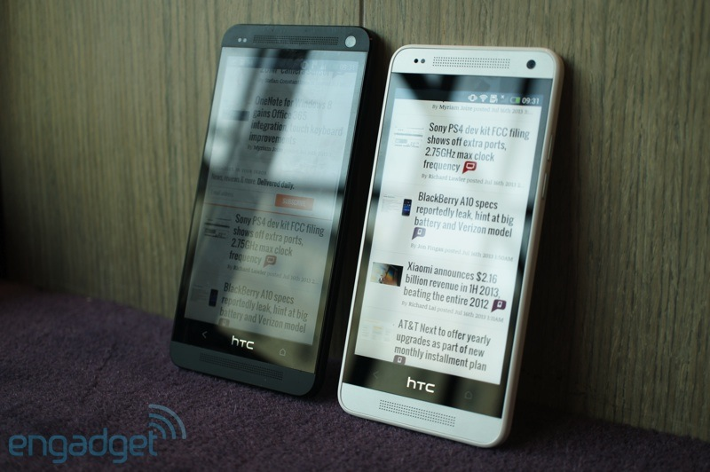 htc one vs htc one minii
