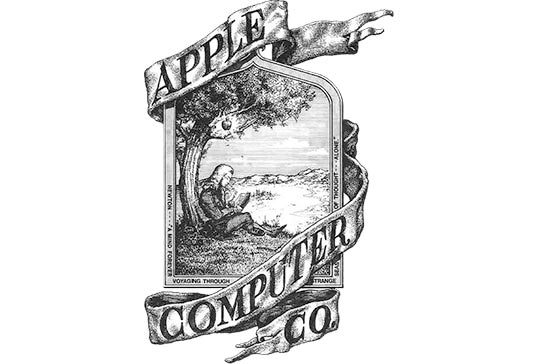 primul logo apple